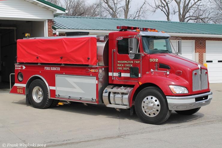 Tanker 902 - 2010 Kenworth T-370/Warner Bodies – 250gpm/2500gal